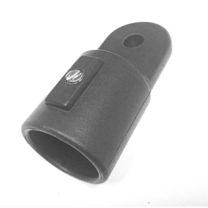 Lot de 2 Embout Tube Bimini de Capote 22mm en Plastique