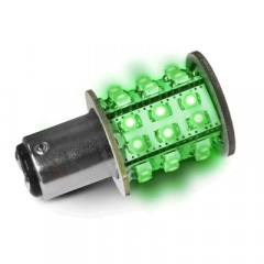 AMPOULE 30 LED BAY15D VERT