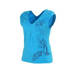 T-Shirt Haifa Slam Bleu Turquoise