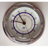 "Horloge 4.5"" Chromé Plastimo"