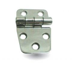 Charnière en Inox Poli 38.5x54.5mm Kent