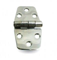 Charnière en Inox Poli 38.5x72mm Kent