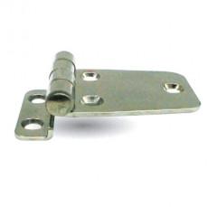 Charnière Déportée Inox Poli 38.5x63.5x9mm Kent