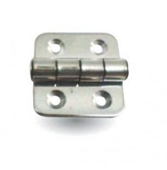 Charnière en Inox Poli 38.5x37mm Kent