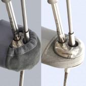 Protection Barre de Flèches à Velcro 122/154mm Topoplastic ma...