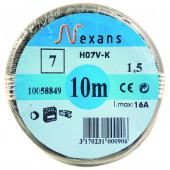 Câble électrique HO 7VK noir 6 mm² Euromarine
