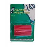 Dacron Adhésif Rouge 75mm x 1.5m Psp marine tapes