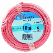 Câble électrique HO 7VK rouge 1.5 mm² Euromarine